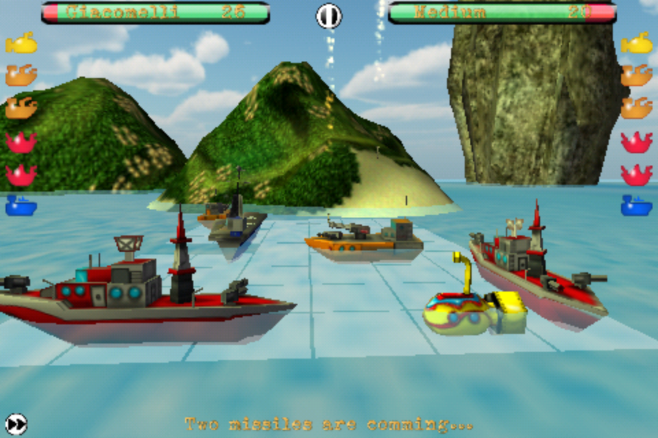 Screenshot Ships N' Battles – The Battleship Revolution