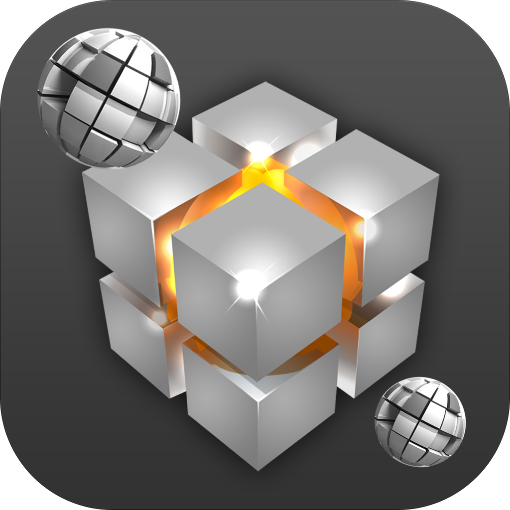 Безумная 3D-революция - Падение кубиков и шаров
